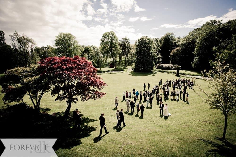Knabstrup Hovedgård bryllupsgæster