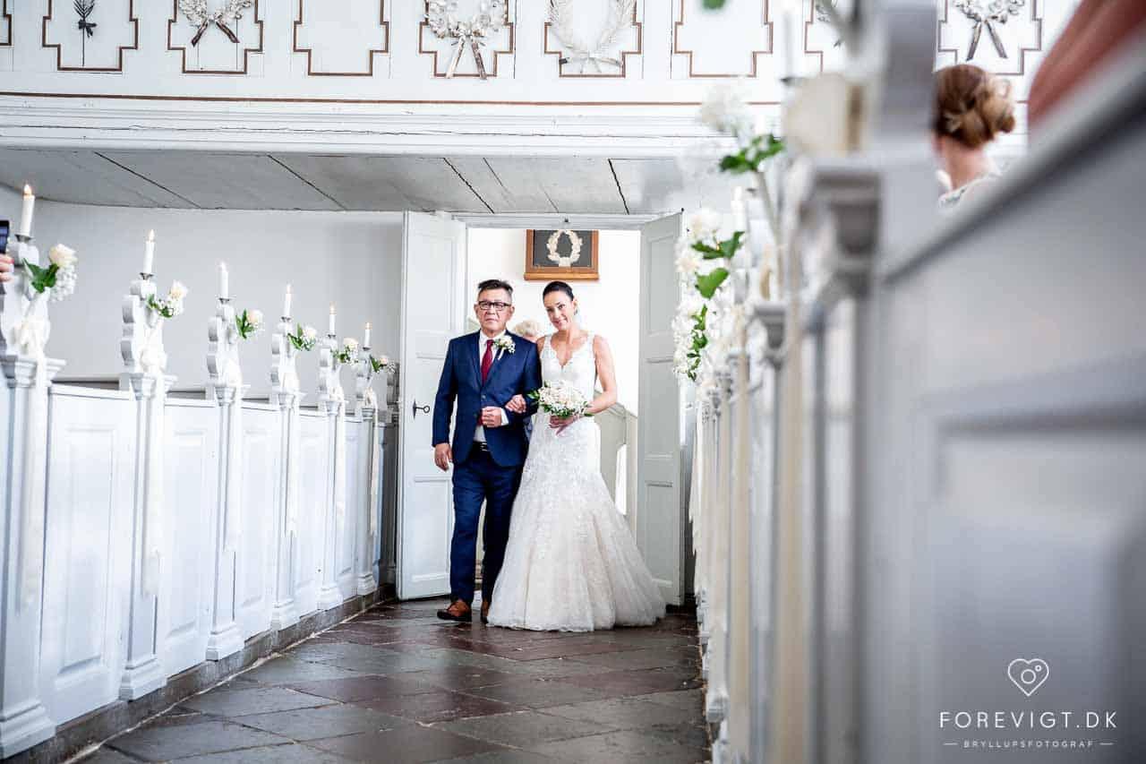 WEDDING AT DRAGSHOLM CASTLE