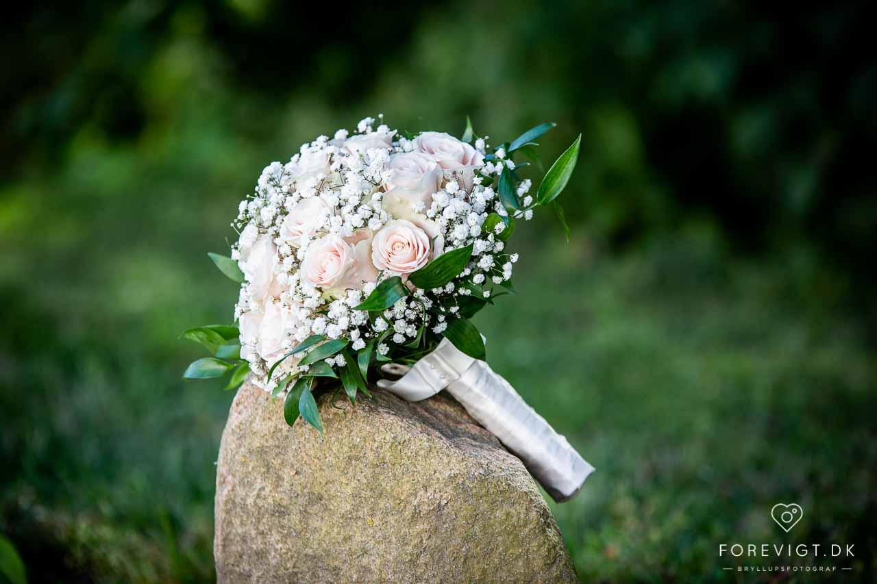 Bryllup med overnatning i romantiske omgivelser