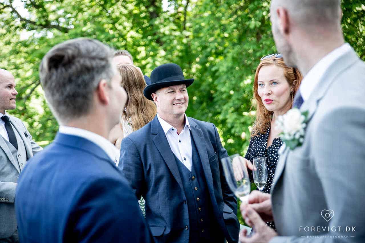 Slotsbryllup, Konfirmation og fest på danske slotte