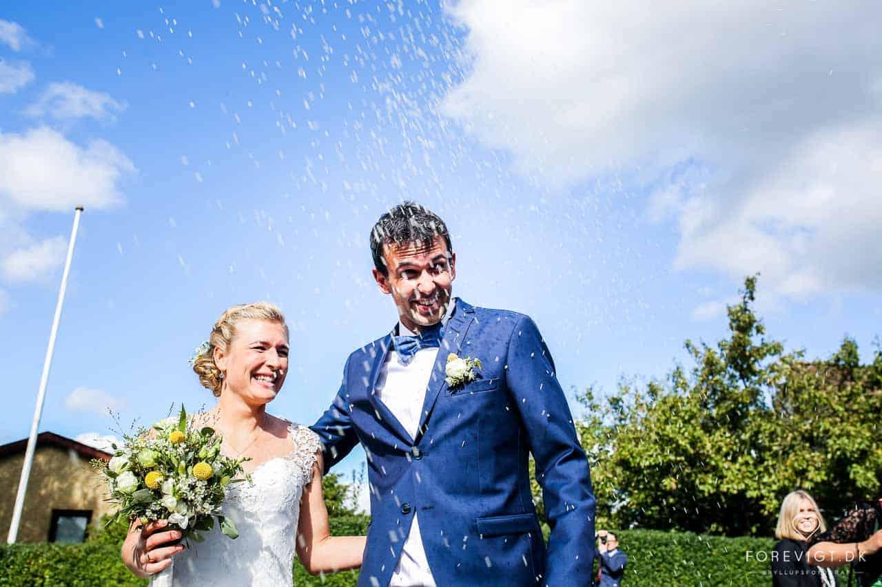 bryllupsbilleder Baunekirken