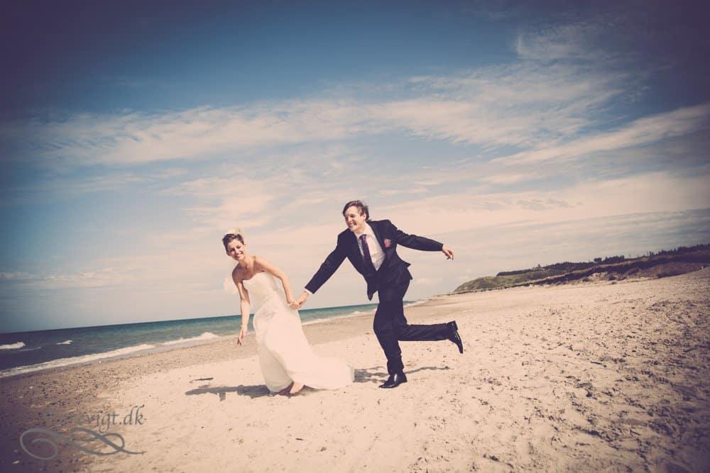 bryllupsbilleder ved Ringkøbing