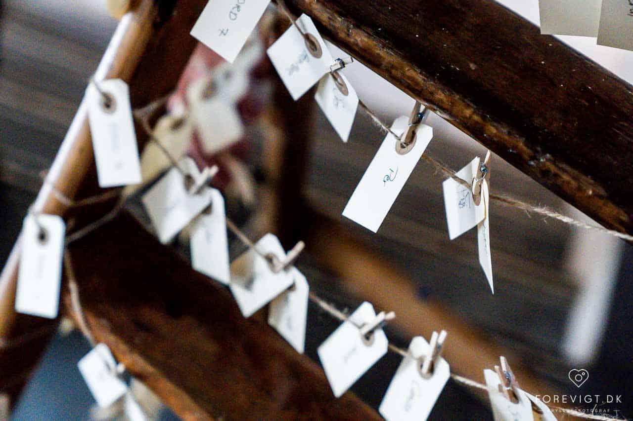 Havesalen samt udvalgte rum på 1.sal danner baggrund for det klassisk smukke bryllups billede