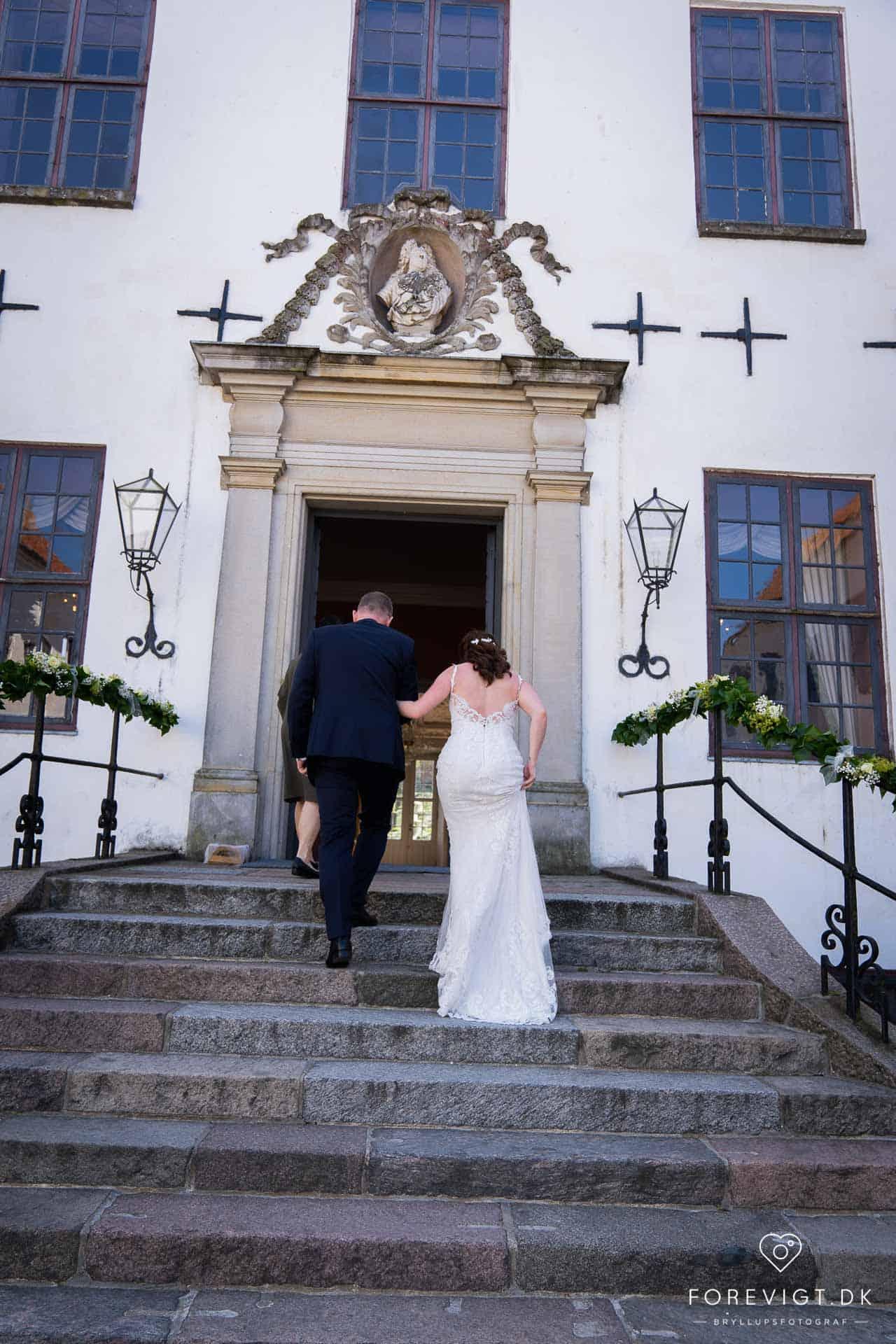 Bryllupsfest – med vielse på slottet