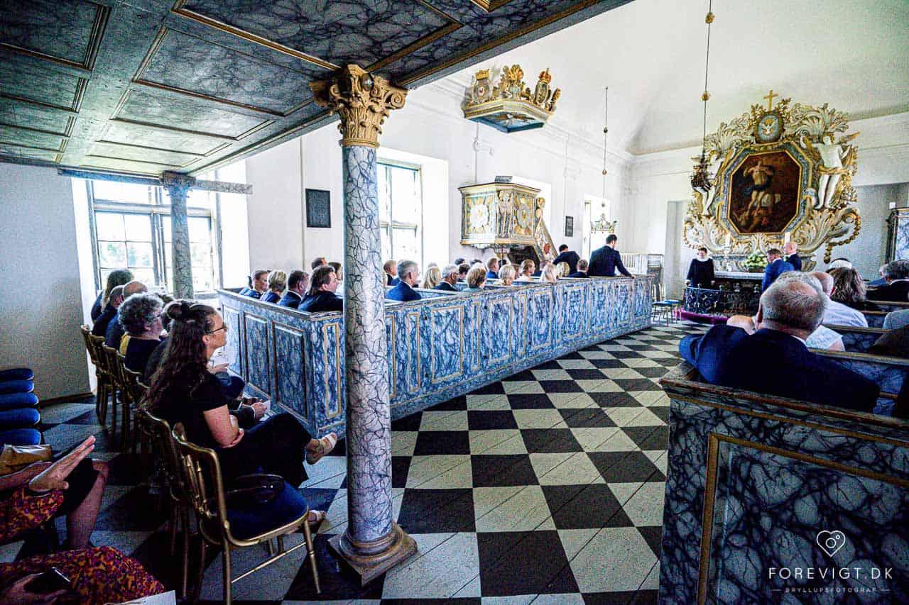 Clausholm Slot - Lidt billeder fra dagens bryllup
