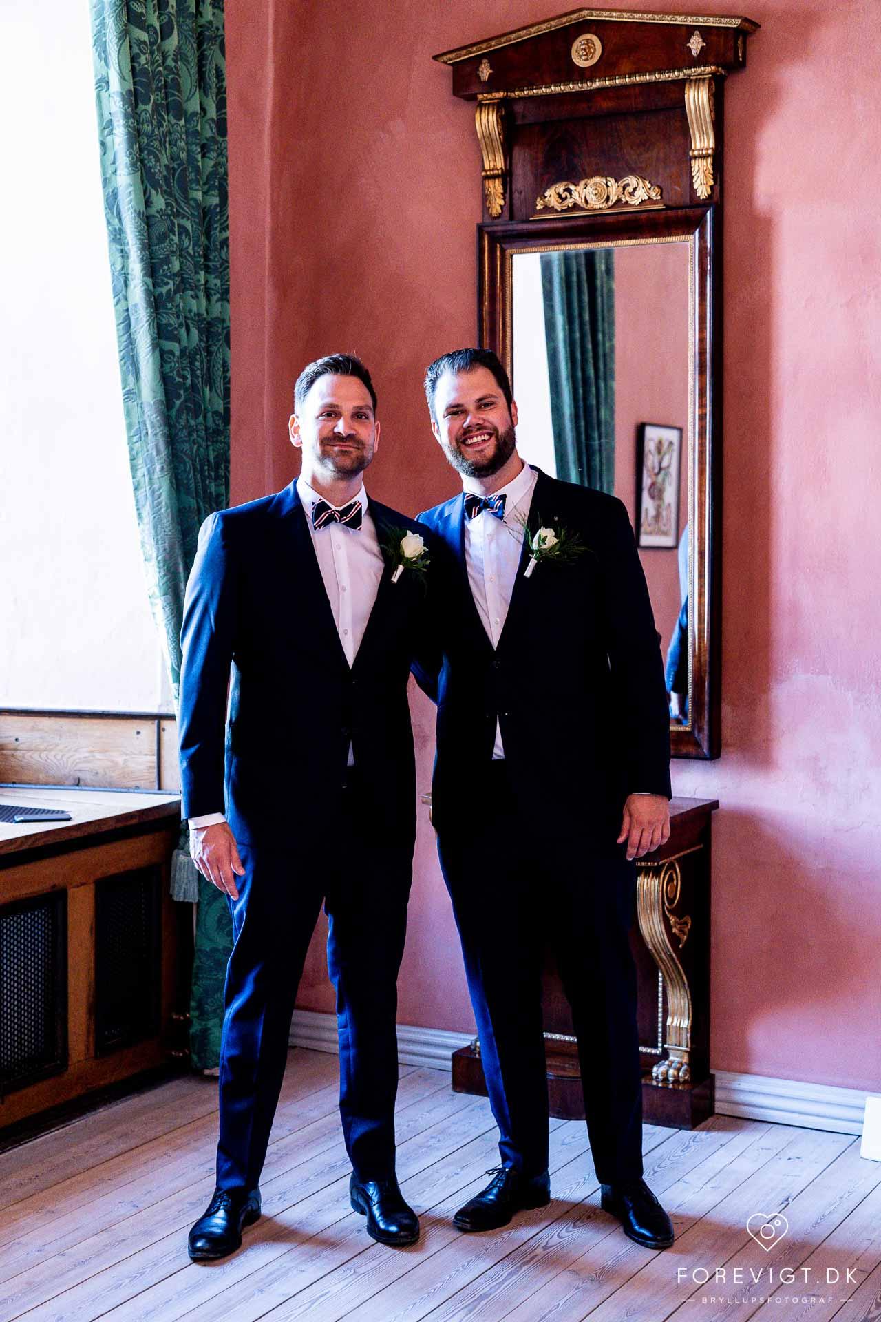 Slotsbryllup. Bryllup med vielse på slottet · Bryllupsfest i Clausholms festlokale