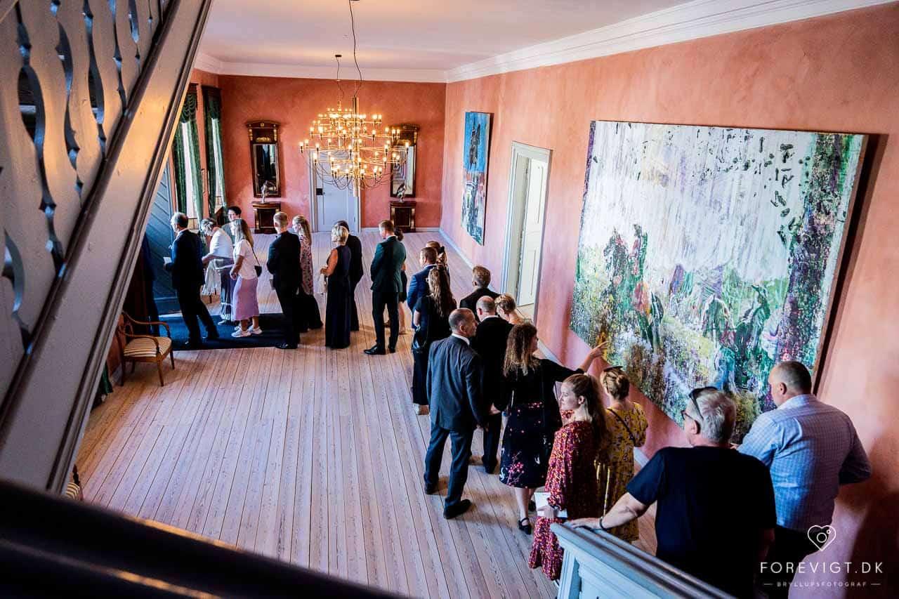 Bryllupsfest i Clausholms festlokale.