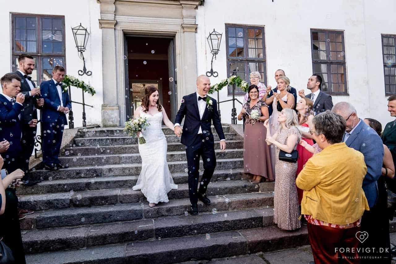 Clausholm Selskabslokale er velegnet til alle livets store fester; bryllup, dåb og konfirmation