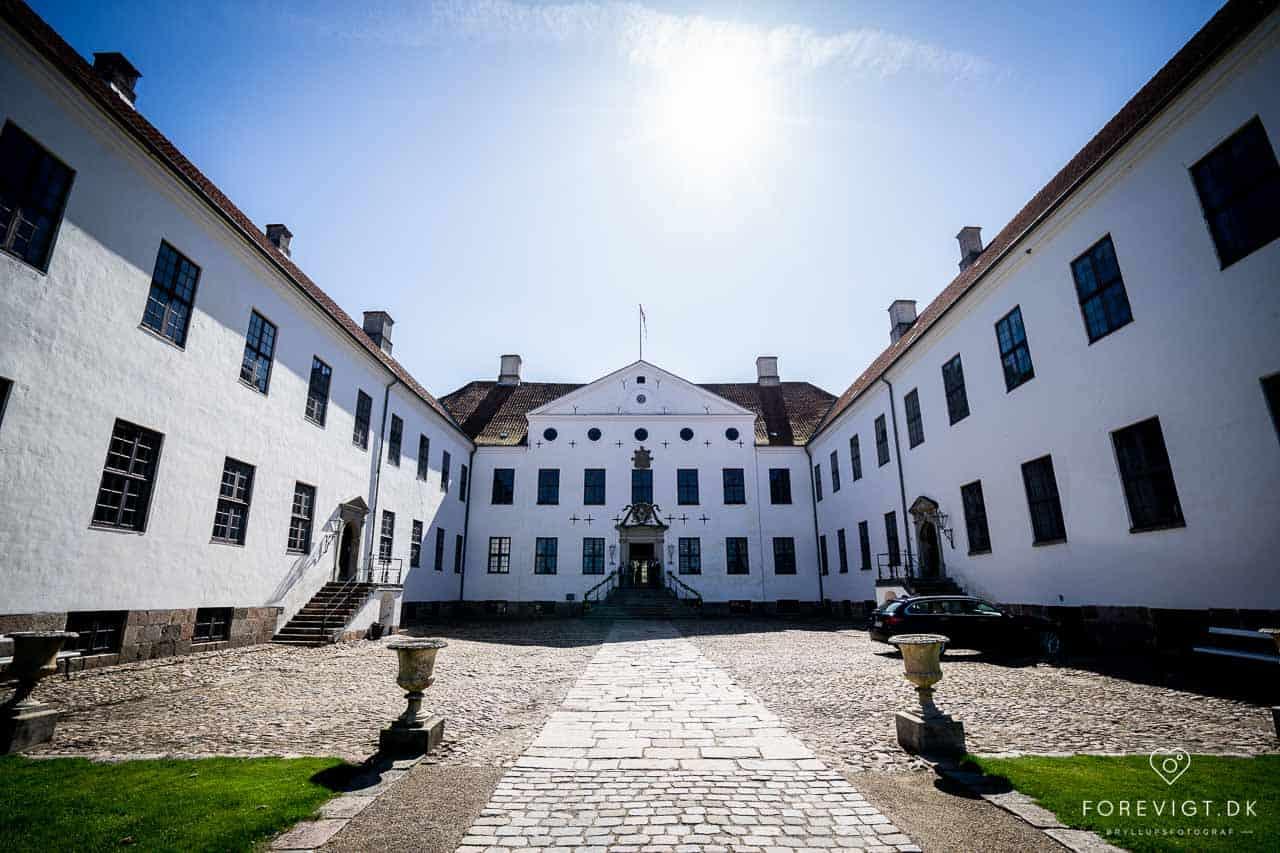 Billeder af Clausholm slot bryllup