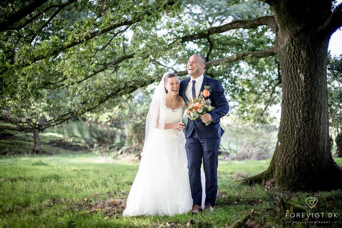 bryllupsbilleder Bramslevgaard bryllup