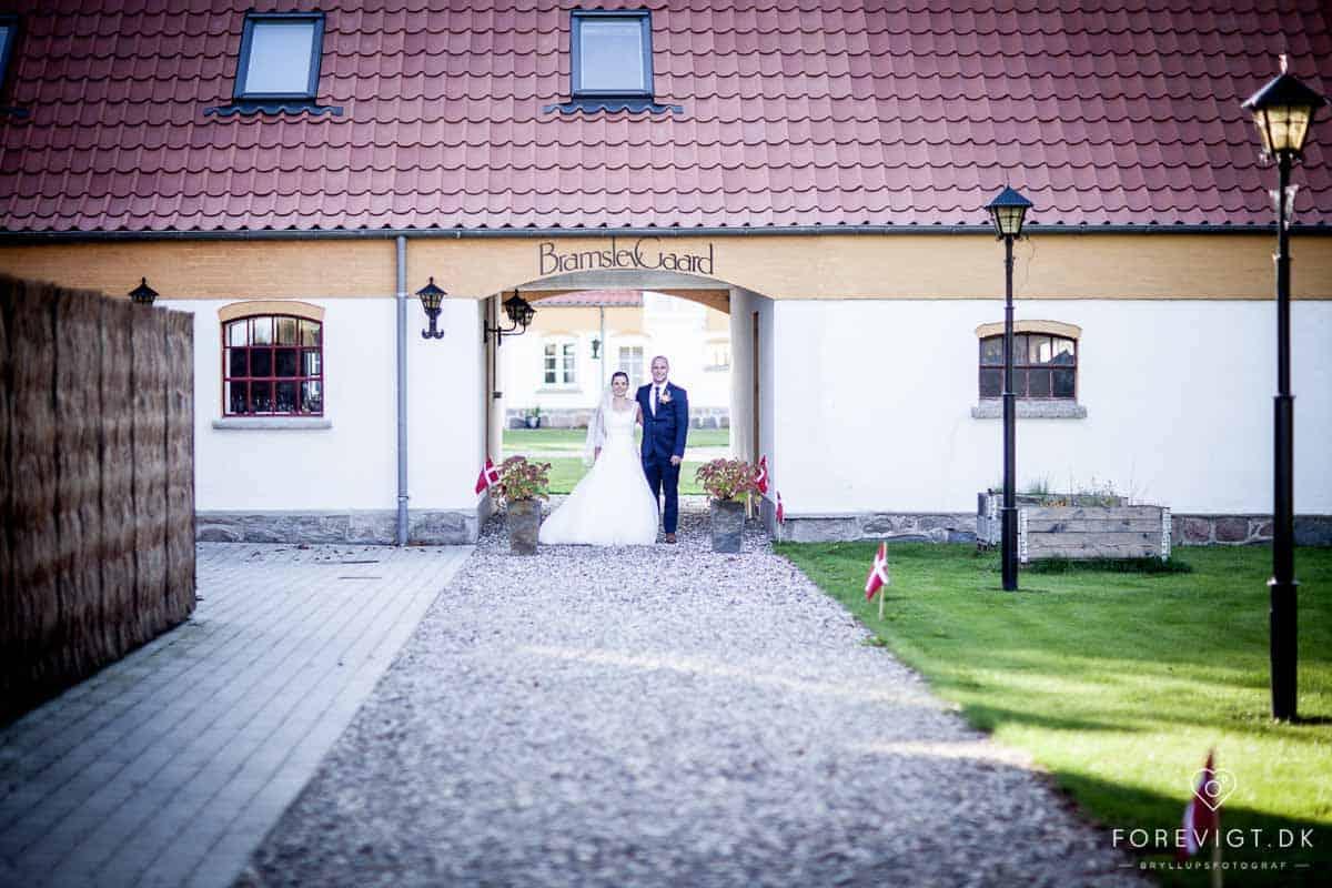 Bramslevgaard bryllup