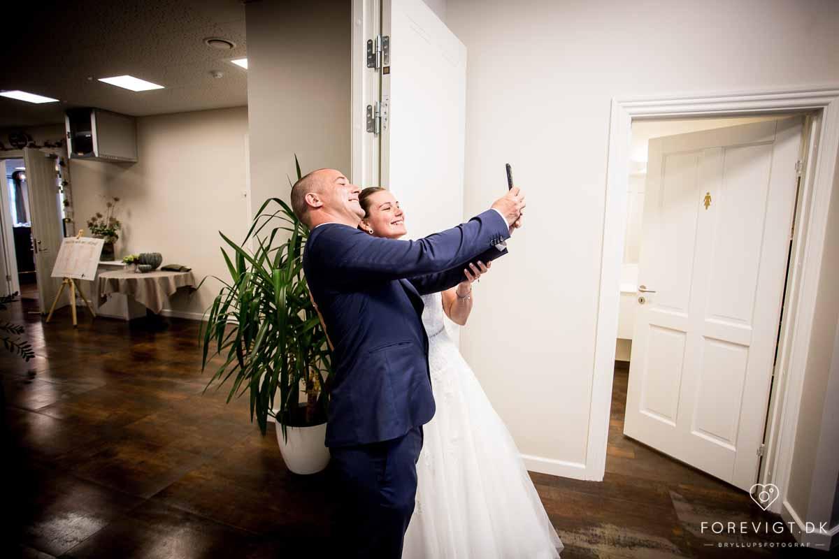 brudepar Bramslevgaard bryllup