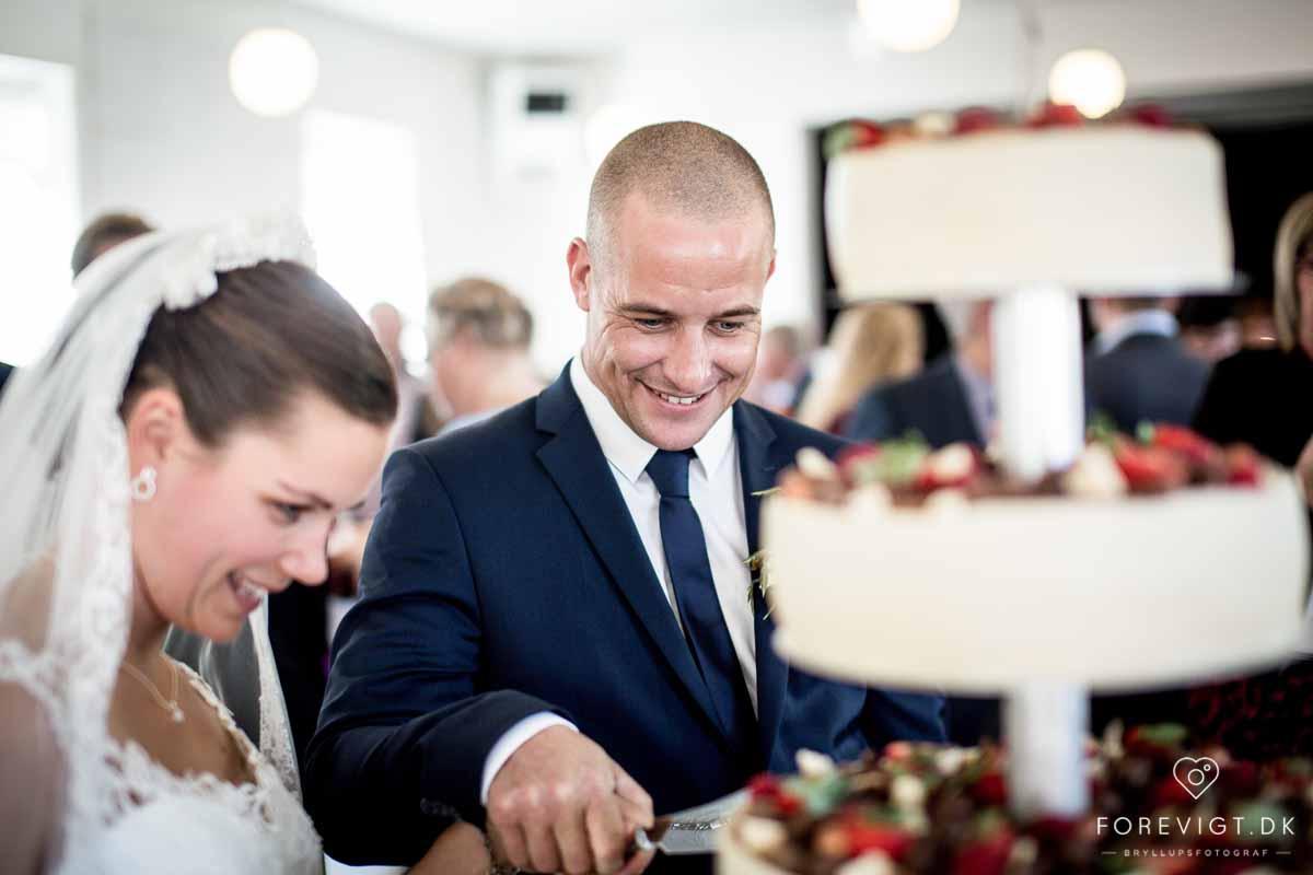bryllupskage Bramslevgaard bryllup
