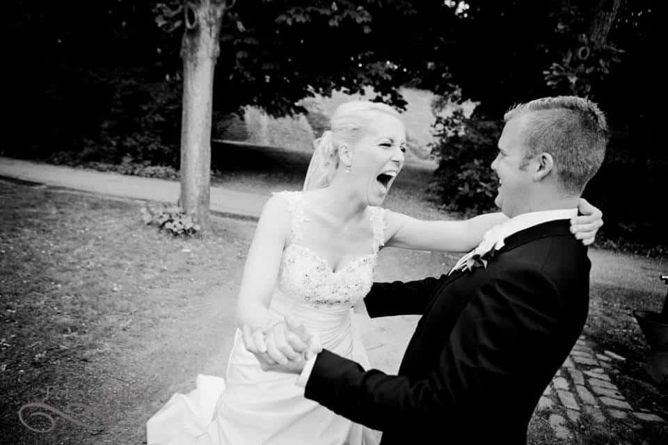 Sauntehus Slotshotel bryllupsfotograf