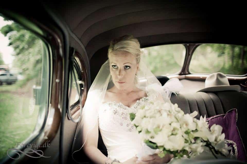 bryllup på Sauntehus Slotshotel