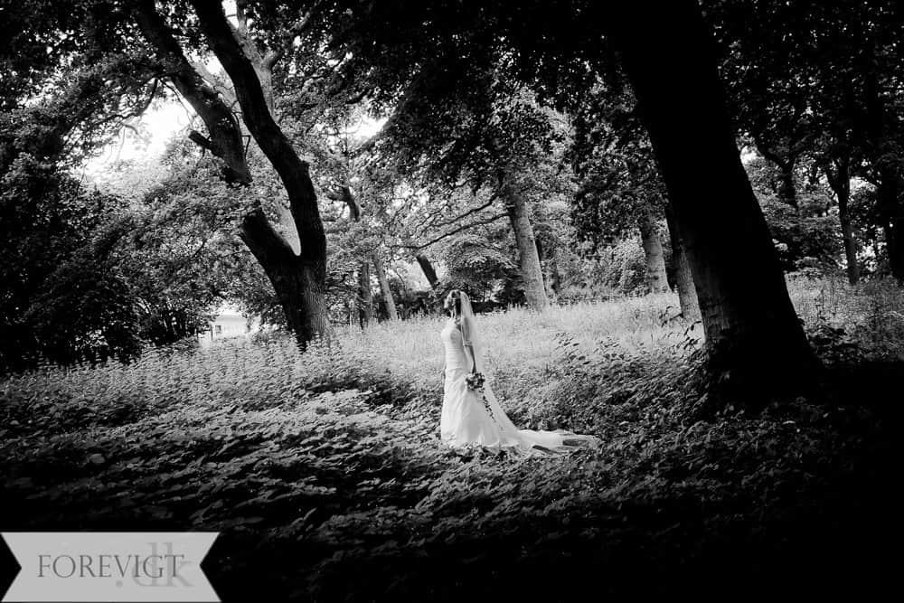 Jægerspris Slotshave bryllupsfoto