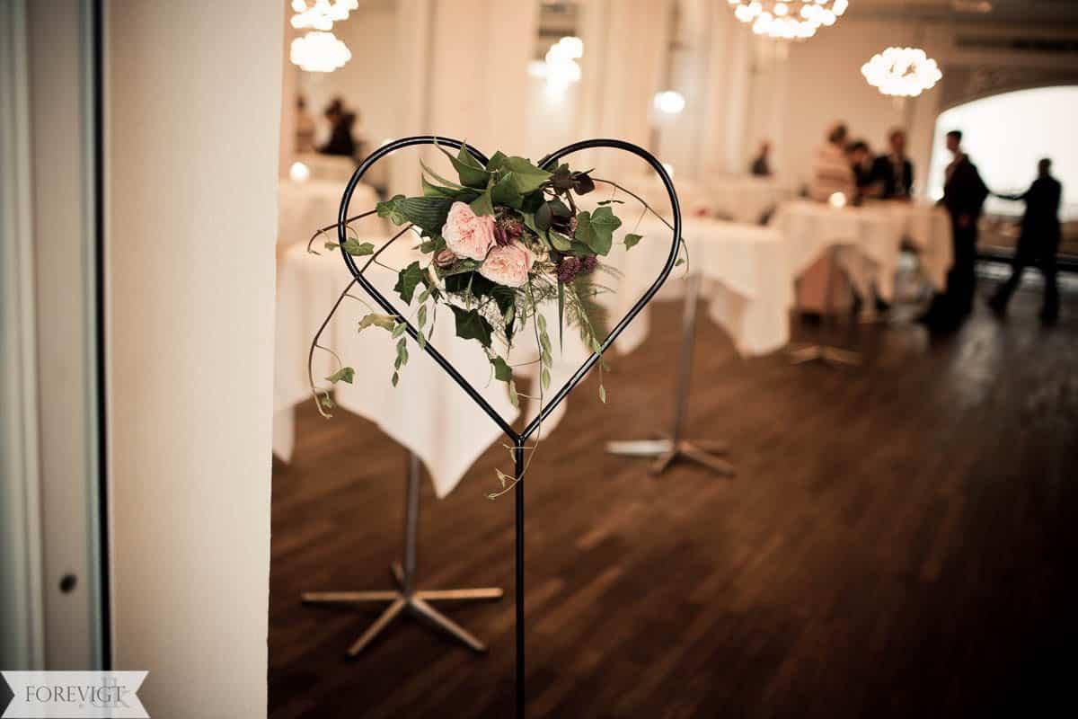 Hotel Schaumburg reception bryllup