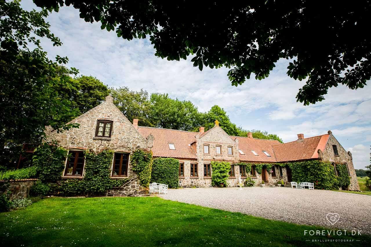 Slotte og herregårde til bryllup i Jylland