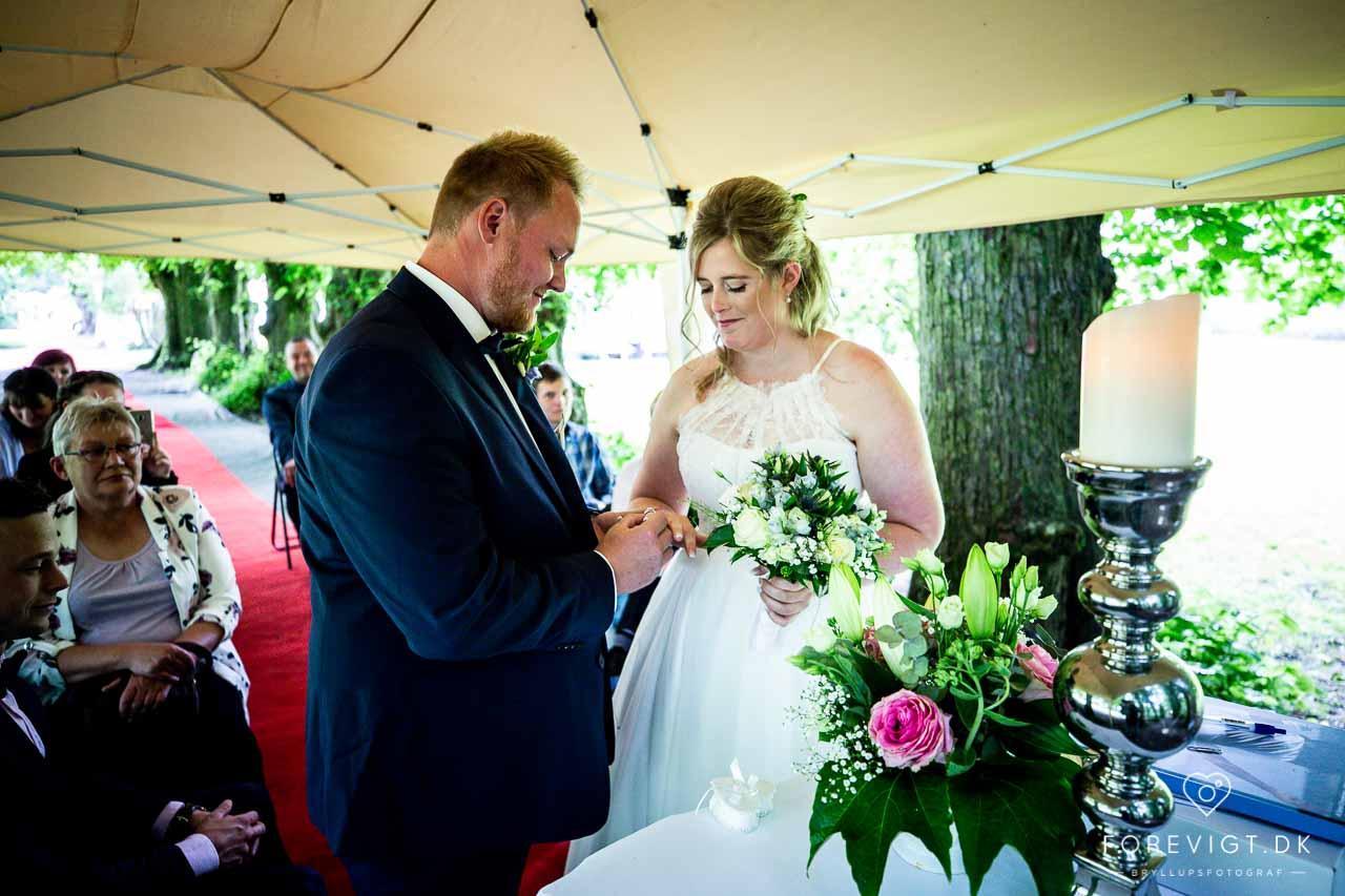 Bryllup Lille Restrup Hovedgaard
