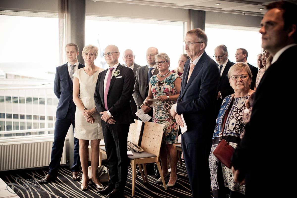 bryllupsgæster First Atlantic Hotel Aarhus