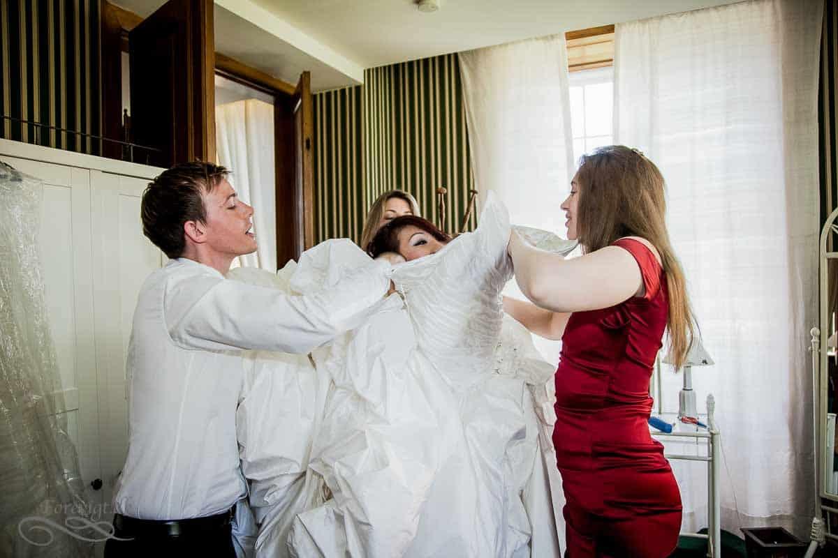 Fotograf til Amerikansk og Tysk bryllup