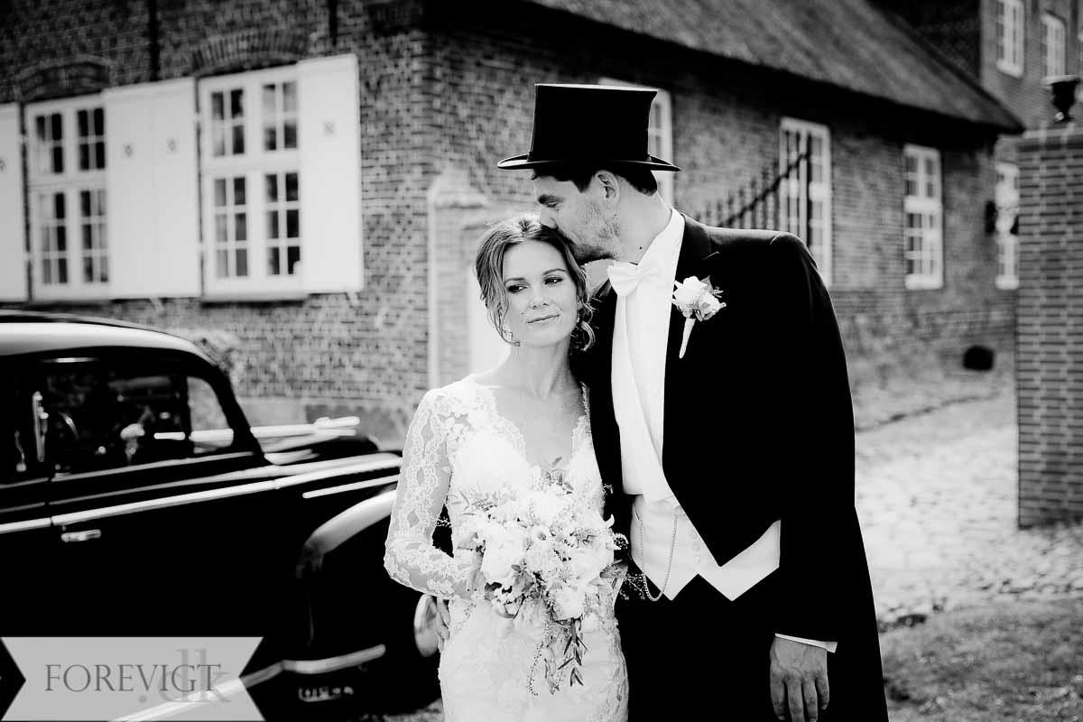 bryllupsofotografering Bjerremark