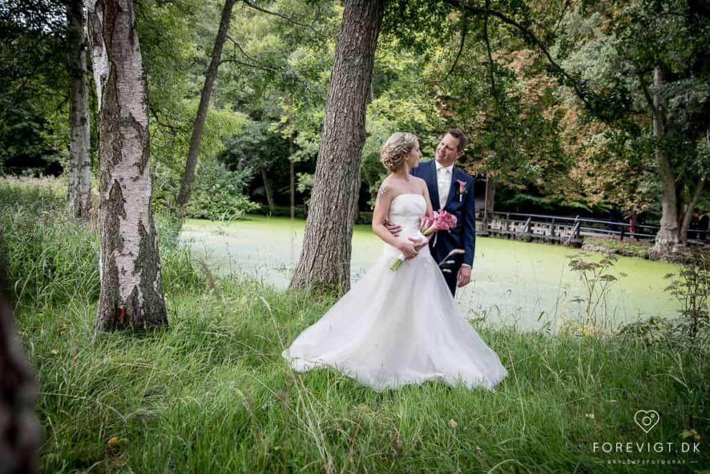 brudepar ved bryllupsmesse
