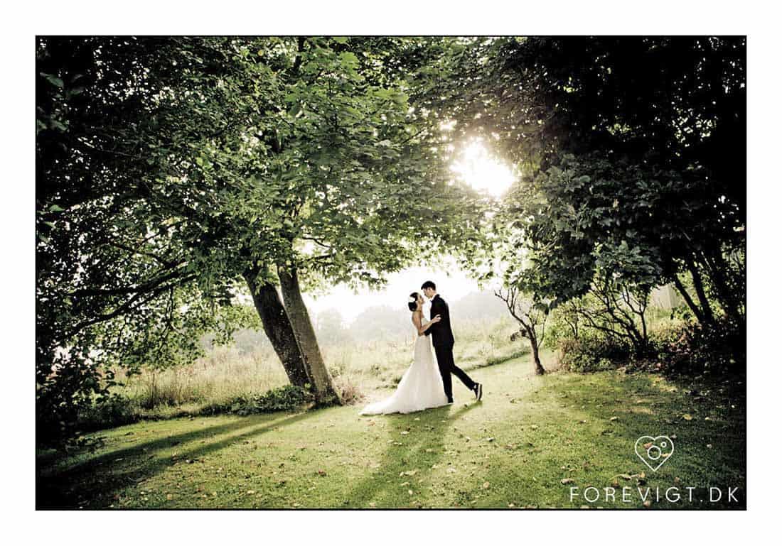 Nordjylland bryllupsbillede