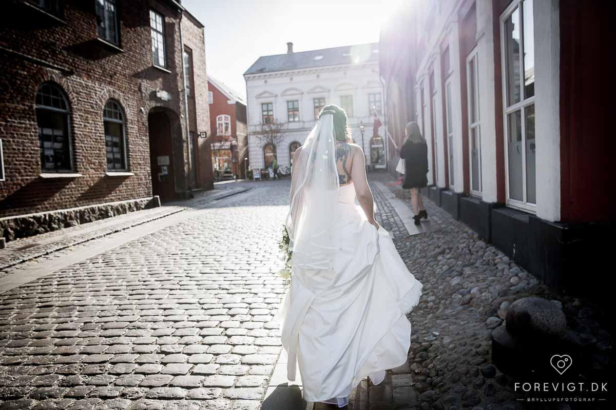 bride in ribe