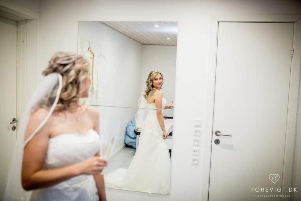 En brudekjole fortæller rigtig meget om hvem du er som brud