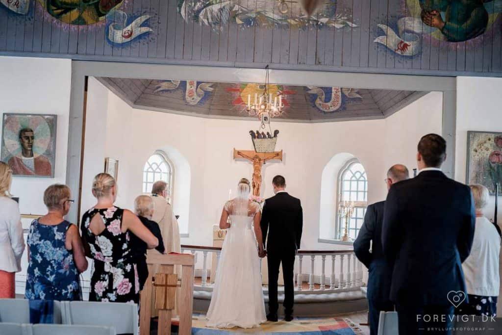 par, der kommer til Skagen for at blive gift