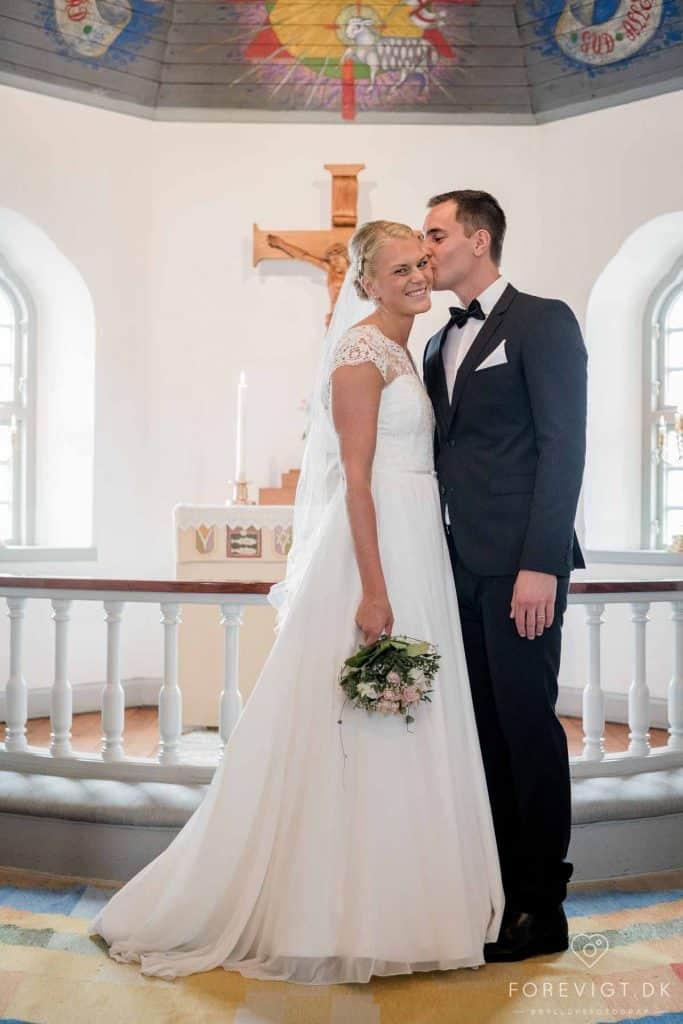 Bryllupsfotografering i Skagen På en smuk forårsdag