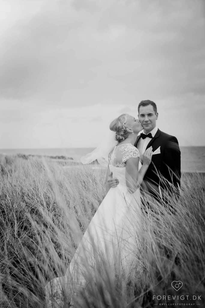 den Svenske Sømandskirke i Skagen vielsesret overfor par