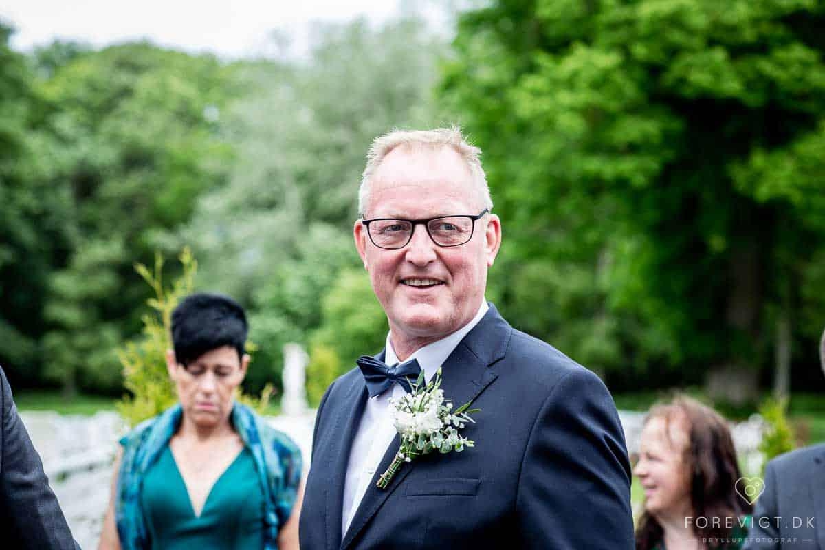 brudens far Vrå Slotshotel