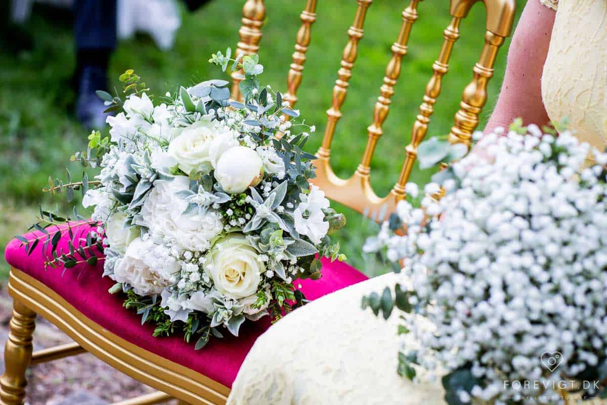 brudebuket Vrå Slotshotel