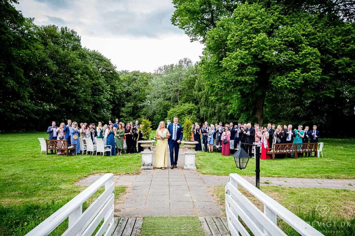 I mandags var vi på besøg på Gl Vrå Slot hvor vores bryllup skal holdes.