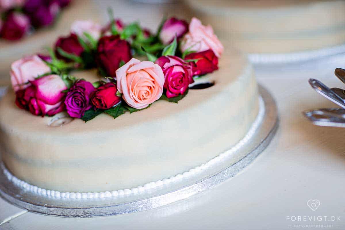 Slotshotel bryllup - Fotograf bryllup - Professionel bryllupsfoto