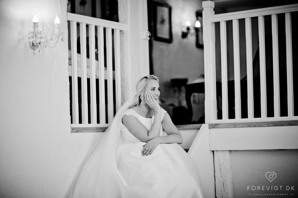 brudens forberedelse Vraa Slotshotell