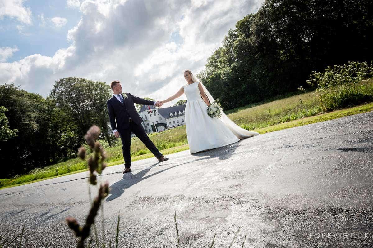 Slotsbryllup, Konfirmation og fest på danske slotte og herregårde