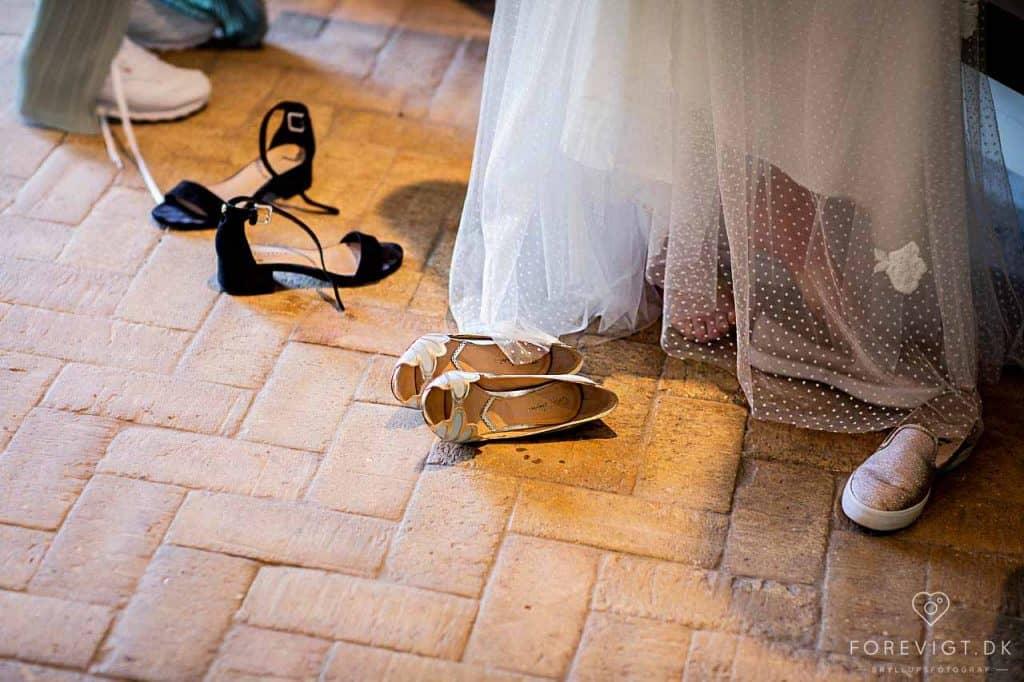 Vores eventyr bryllup på Sebber Kloster