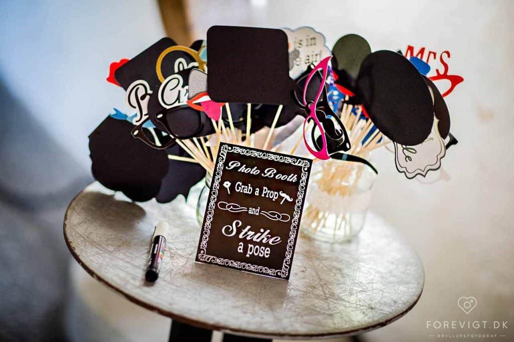 bryllupsarrangør - photobooth