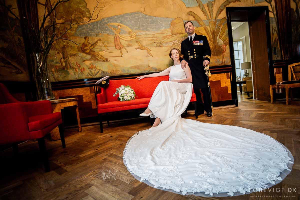 klassisk bryllupsbillede