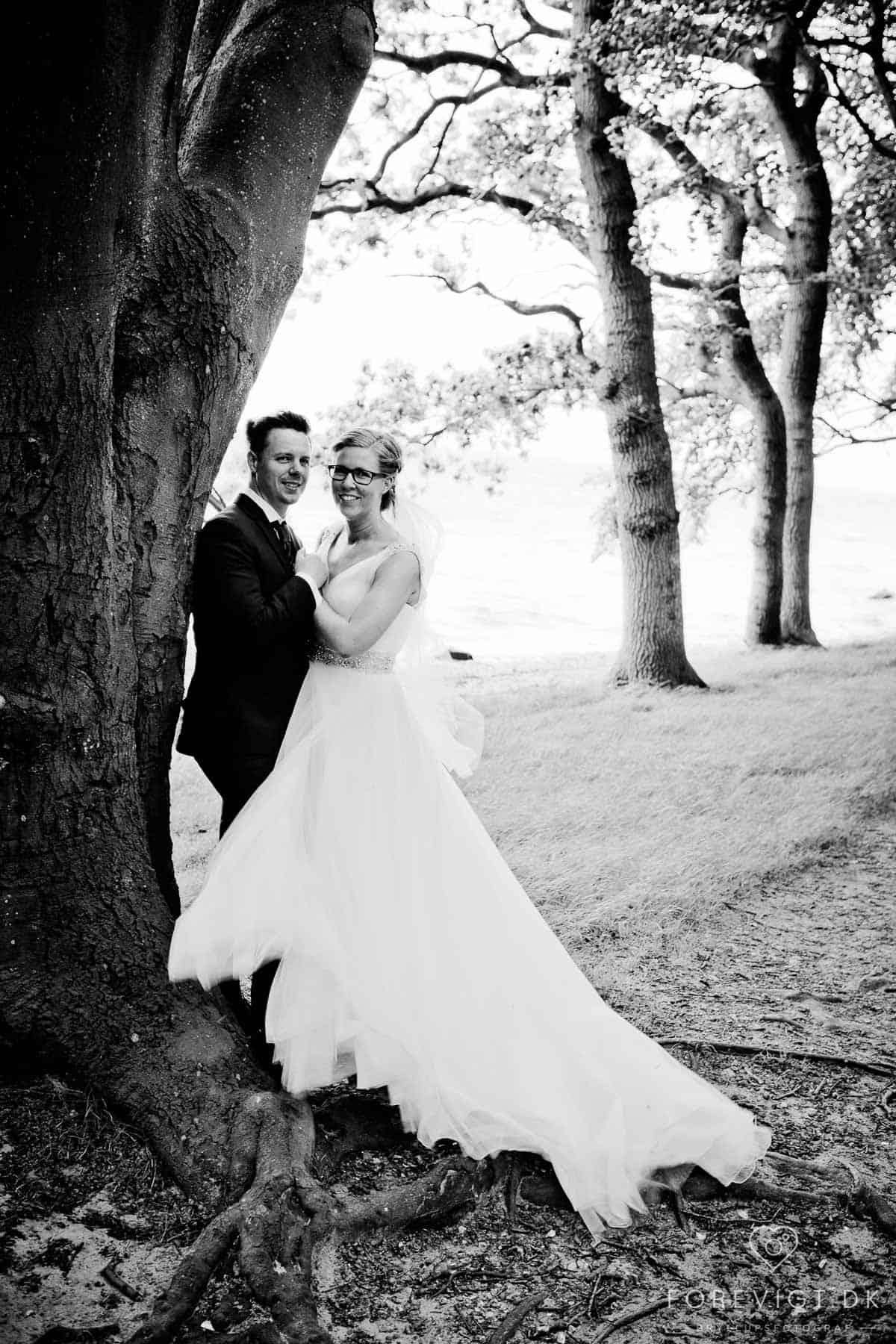 Billeder af Bryllupsfotograf Svendborg og Sydfyn