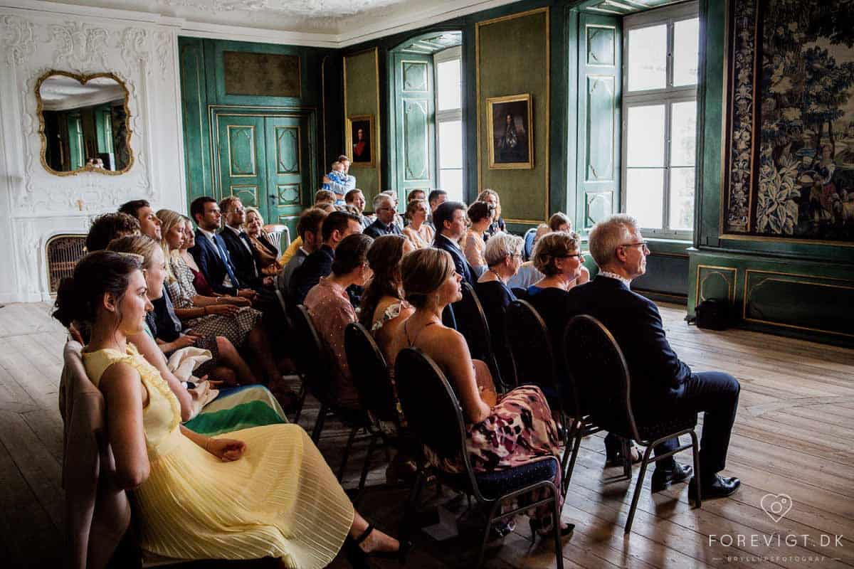 indendørsscener fra tv-serien 1864 blev filmet på Hvidkilde