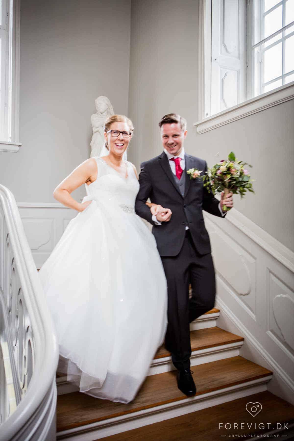 Slotsbryllup på Fyn | Find det perfekte slot til jeres bryllup