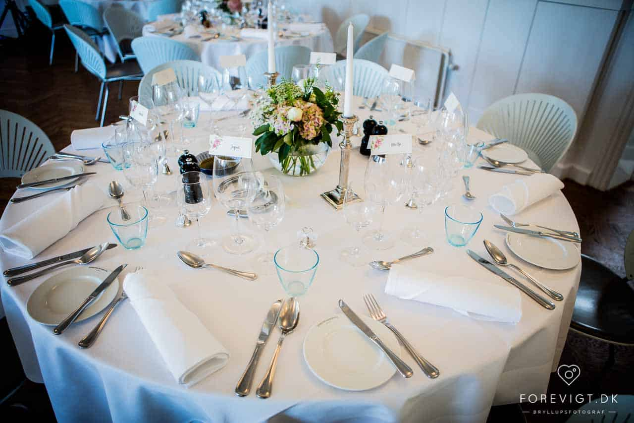 bord bryllup Hotel Hjerting