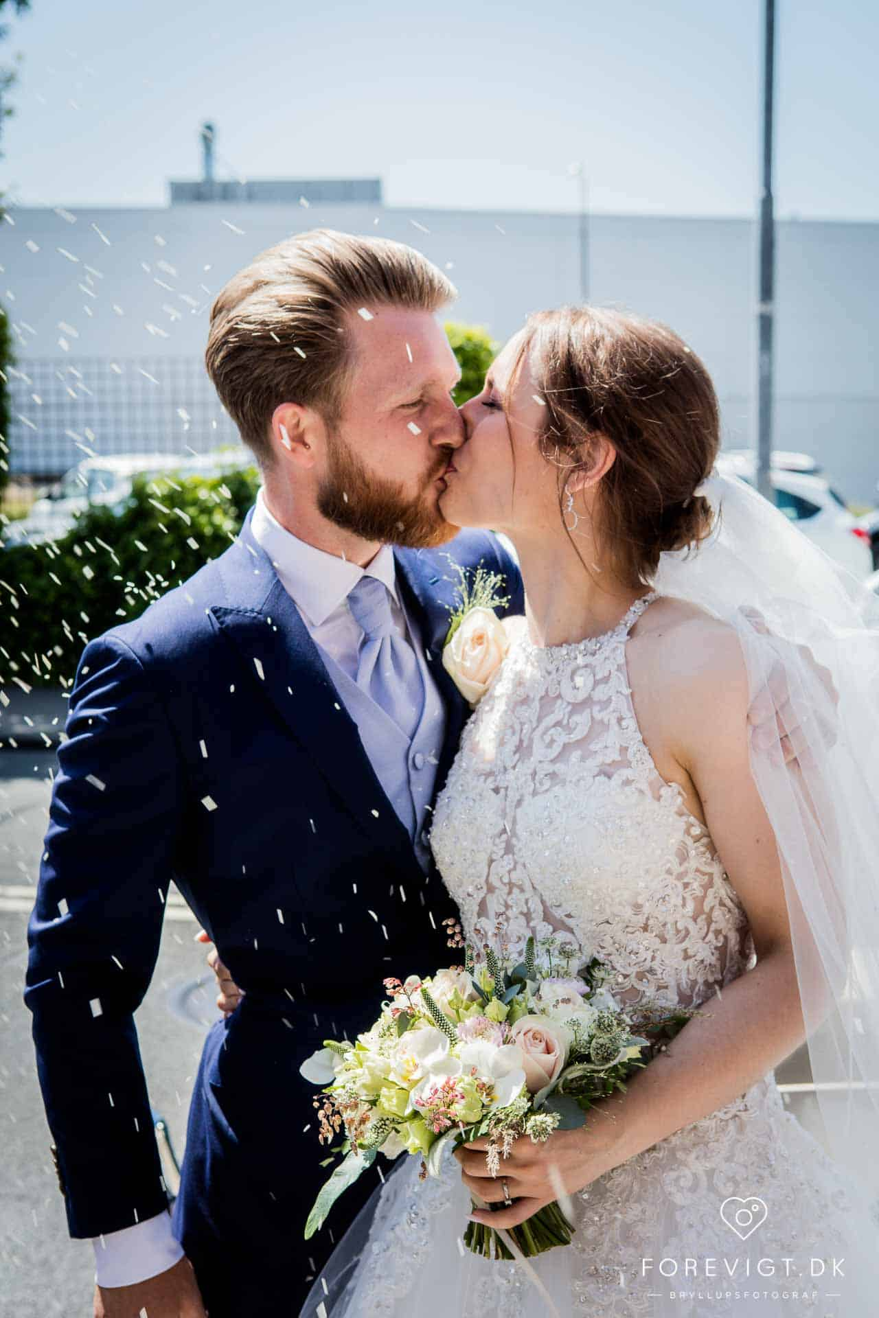 Frimurere logen bryllupsfoto