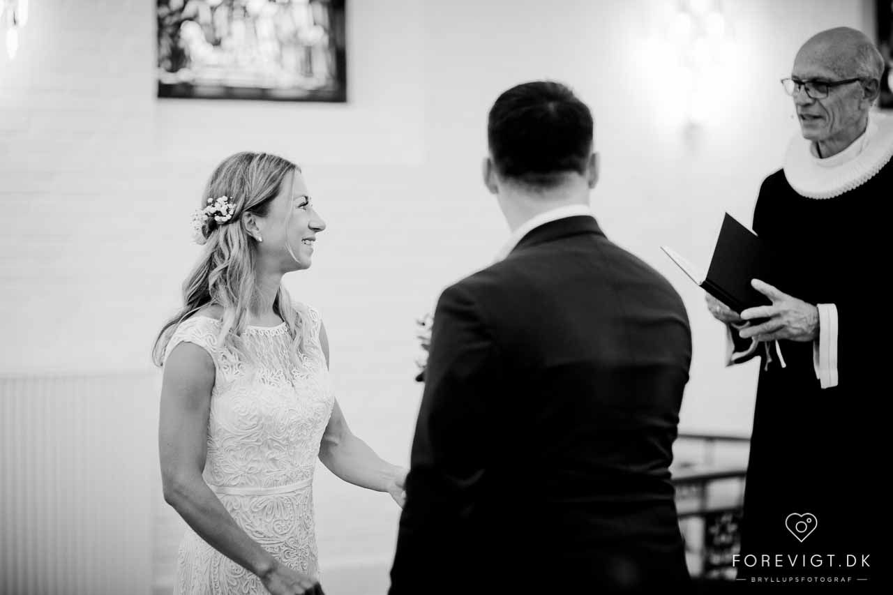 Vielse og bryllup ved Fredericia og Middelfart