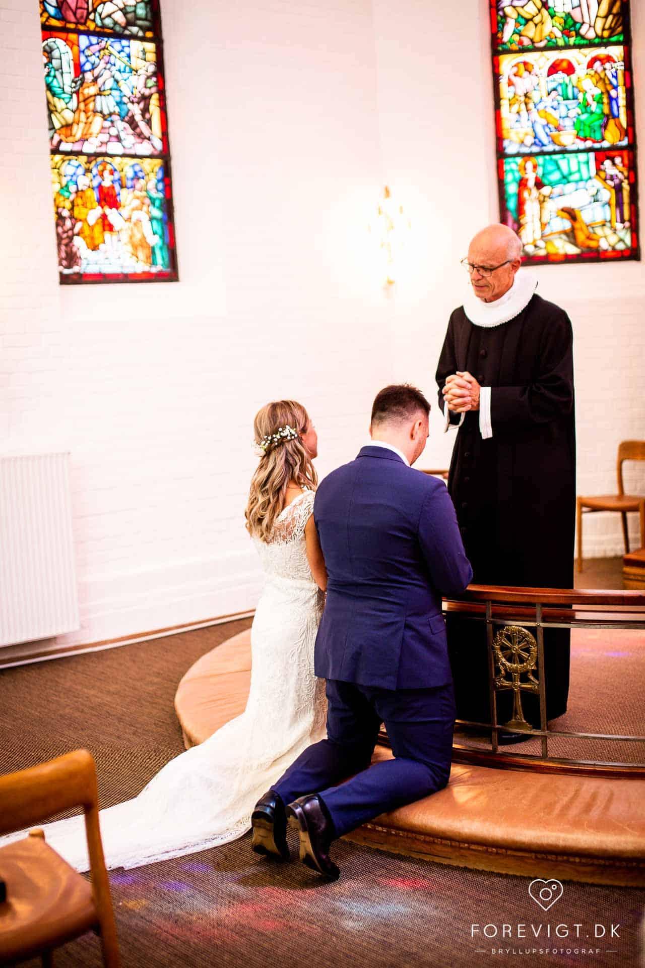 Hold bryllup på Hotel Gudenå i Tørring nær Vejle