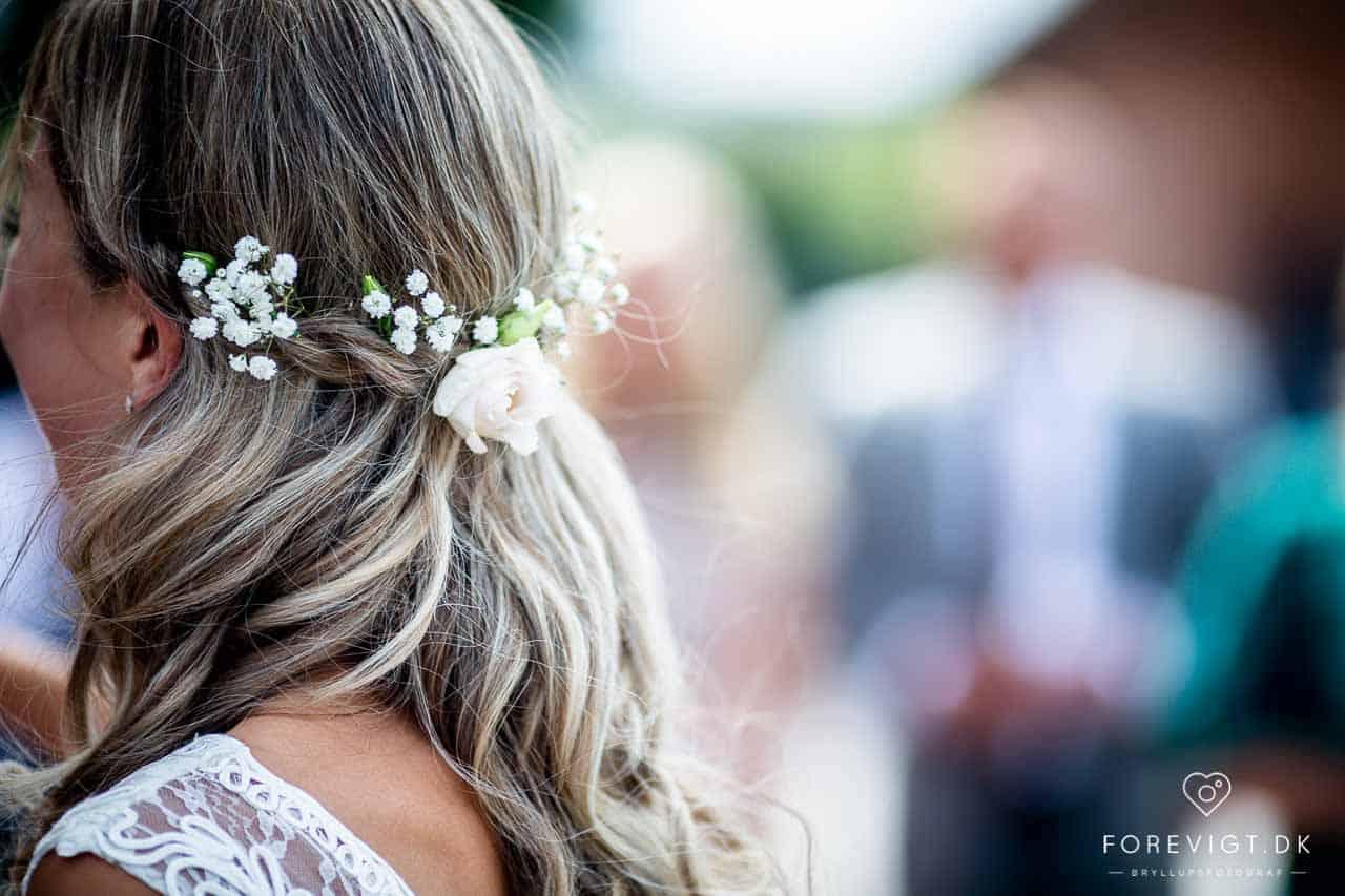 indtryk, følelser og stemning ved bryllup i Vejle